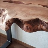 Sidetable Lychee hout_