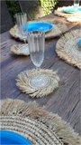 Onderzetters zeegras [set van 2 stuks]_