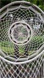 Dromenvanger bamboe met veren en kralen XXL_