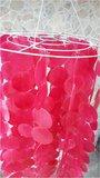 Schelpenlamp Capiz roze_