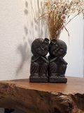 Love couple black 20 cm_