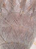 Ibiza/Bali parasol (Taupe, zilver)_