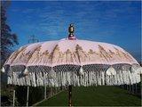 Ibiza/Bali parasol(roze/goud)_