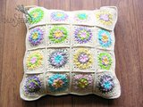 Kussen patchwork _