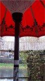 Ibiza/Bali parasol (Red Rose)_