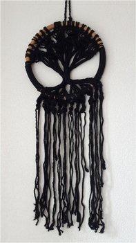 Tree of life bamboe black S