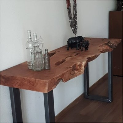 Sidetable Lychee hout