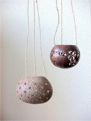 Kokosnoot hangers