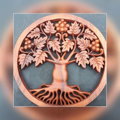 Tree of life (groot blad)