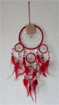 Dromenvanger rood met spiegeltjes