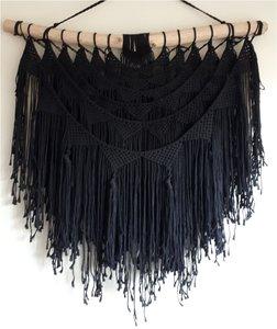 Wandkleed Bali black