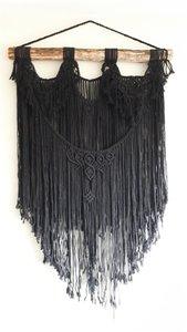 Wandkleed XL black
