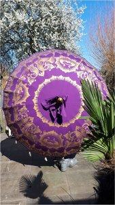 Ibiza/Bali parasol purple