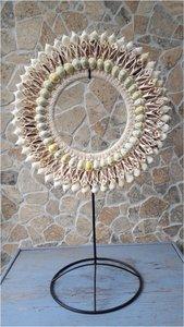 Schelpenketting color shells