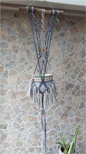 Plantenhanger boho duocolor