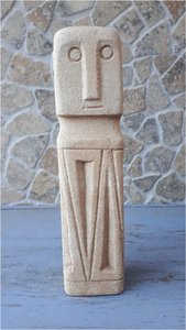 Stoneman zandkleur punt 25cm