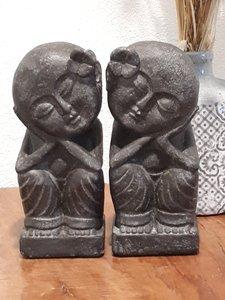 Love couple black 20 cm