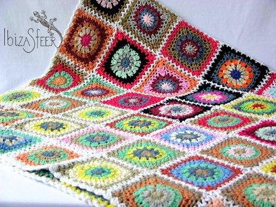 Plaid patchwork Colores
