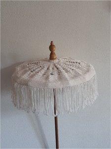 Tafel parasol Macramé