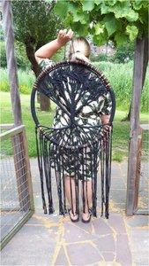 Tree of life bamboe black XXL