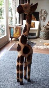 Set van 3 giraffen